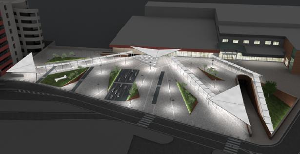 Aeroporto Internazionale di Napoli - Forecourt