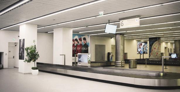 Aeroporto Internazionale di Napoli - Sala Arrivi